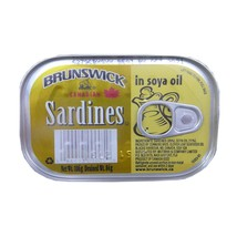 Sardines In Soya Oil - 3 Boxes----Each Box Is 1 X(0.212LB) - $6.46
