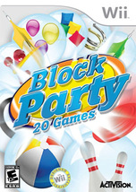 Block Party (Nintendo Wii) Game US Release Brand NEW! - $19.99