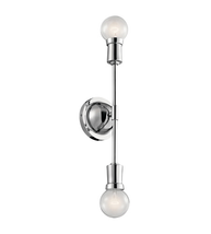 Kichler 43195CH Armstrong Wall Sconces 17in Chrome Steel 2-light - $123.80