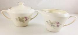 Floral Dinnerware Cottage Chic Décor Shabby & Chic Vintage Sabin sugar ... - $30.00