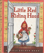 "LITTLE RED RIDING HOOD (1948) Little Golden Book WINE ""E"" NEVER BEEN REA... - $199.99"