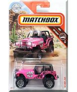 Matchbox - '60 Jeep 4x4: MBX Off-Road #4/20 - #76/100 (2019) *Pink Edition* - $4.50