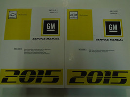2015 GM Chevy CITY EXPRESS Service Shop Repair Workshop Manual Set NEW - $414.76