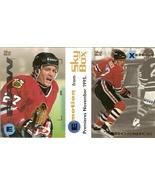 1995 fleer skybox jeremy roenich chicago blackhawks hockey promo sample ... - $19.99