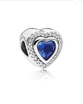 AUTHENTIC PANDORA SPARKLING LOVE Charm, 797608NANB - $70.08