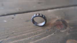 Vintage Sterling Silver GEAR Ring Size 5.75 - $24.74