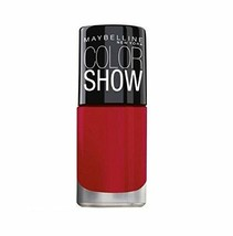 New Maybelline Color Show Bright Sparks Power Of Red 708 6ml Free Shipping - $9.79
