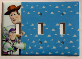 Toy Story Woody Buzz Lightyear Light Switch Power Outlet Wall Cover Plate Decor image 8