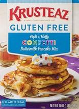 Krusteaz Gluten Free Confetti Buttermilk Pancake Mix, 16 Ounce, Pack of 8
