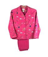 2 Pc Set GRAFF Womens Jacket/Pants Set - Hot Pink - L / 12 - Fun Symbols! - $67.03