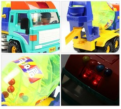 Daesung Toys Melody Concrete Cement Mixer Car Truck Vehicle Construction Toy image 2