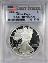 2006-W Silver Eagle PCGS PR69 DCAM Certified Coin AK71 - $66.66