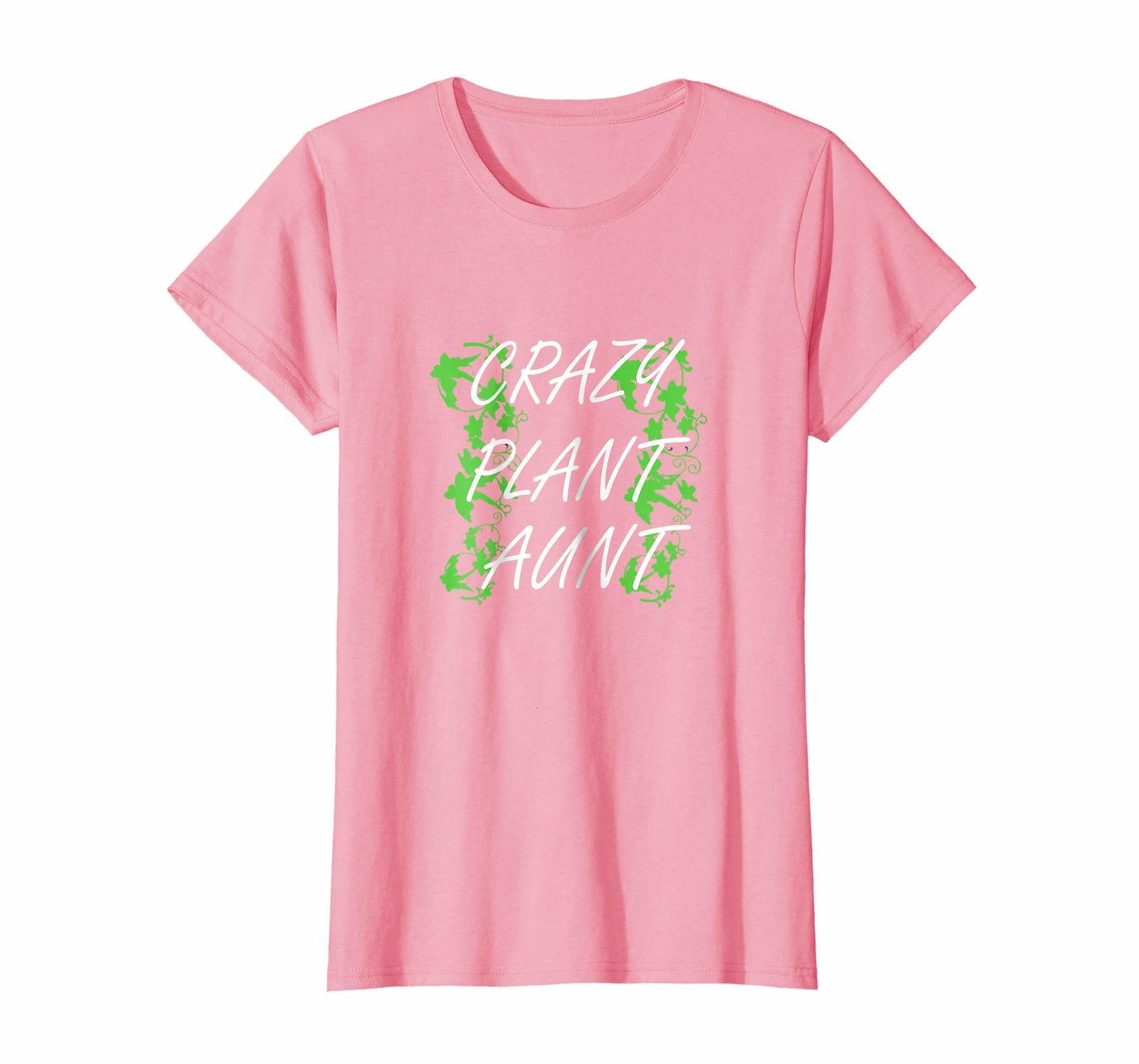 Amazing Shirt -  Crazy Plant Aunt Funny Gardening Shirt Spring Summer Gift Wowen