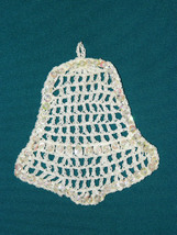 Sequined Crocheted Christmas Ornament; Handmade... - $5.00