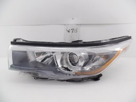 OEM HEAD LIGHT HEADLIGHT LAMP HEADLAMP TOYOTA HIGHLANDER 14 15 16 chip m... - $84.15