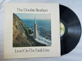 The Doobie Brothers Livin' On The Fault Line Vinyl Record Vintage 1977 W... - £36.92 GBP