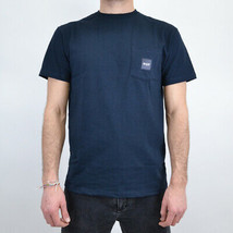 T-SHIRT MAN HUF BOX LOGO POCKET TEE TS00311  Null - $36.22