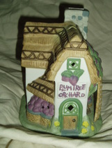 PartyLite PLUM TREE ORCHARD Tealight House Party Lite - $13.00