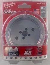 """Milwaukee 49-56-0193 3-1/2"""" Hole Dozer Bi-Metal Hole Saw USA - $7.92"""