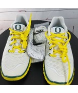 Oregon Ducks Team Issued Promo Sample Nike Free Trainer Size 1.5 Youth 2012 - $90.00