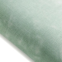 Kelp Hand-Dyed Effect 40ct Linen 17x19 cross stitch fabric Fabric Flair - $20.40