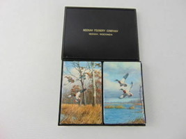 Vintage Playing Cards Mallard Ducks, Neehah Foundry Company - Neenah, Wi... - $5.95