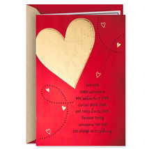 Lucky and Grateful Valentine's Day Card With Envelope  - $4.99