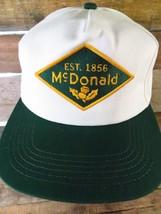 McDONALD Est 1856 Water Works Vintage Snapback Adjustable Adult Hat Cap  - $16.70