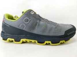 On Running Cloudventure Size 11 M (D) EU 45 Men's Trail Running Shoes Gray Navy