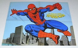 Original 1978 Amazing Spider-man 21x16 Marvel Comics poster 1:1970's/Marvelmania - $49.49