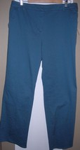 Liz Claiborne First Issue Pants - Women's 12 - Slate Blue - NWT - $9.49