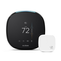 ecobee4 Smart Thermostat + Room Sensors, No Hub Required - $397.90 CAD