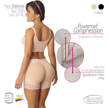 FAJAS COLOMBIANAS SALOME 0321 POWERNET COMPRESSION SEXY SHORT LEVANTA POMPA - $39.89