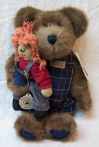 "Boyds SIMON BEANSTER BEAR & ANDY DOLL 10"" Plush STUFFED ANIMAL NEW - $24.74"