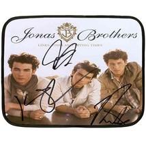 JONAS BROTHERS Autograph  27 (W) x 35 (L) Fleece Blanket(mini) - $24.00