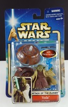 Hasbro Star Wars Attack of the Clones, YODA Jedi Master Action Figure NEW - $9.89