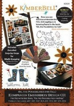 Kimberbell KD531 Oh, the Possibilities for Fall! (ME Companion CD) - $29.65