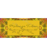 Bonanza Booth Banner- Gold and Green on Kaleidoscope Background - $5.99