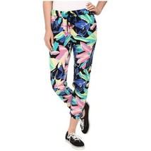 Vans Womens S SMALL Europa PANT Viscose FLORAL Casual Pants RAINBOW RAYO... - $23.33