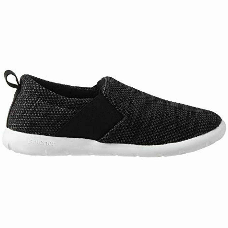Zenz from Isotoner Women's Sport Knit Lauren Slipper Black Size 11 - $34.29