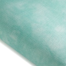 Aqua Hand-Dyed Effect 40ct Linen 17x19 cross stitch fabric Fabric Flair - $20.40