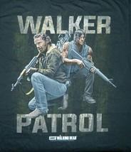 The Walking Dead, Rick and Daryl with Rifles Walker Patrol T-Shirt NEW U... - $14.99