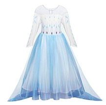 AmzBarley Princess Halloween Outfits Dress Girls Costume Cosplay Fancy P... - $28.54