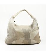 Bottega Veneta Embroidered Intrecciato Leather Hobo Bag - $960.00