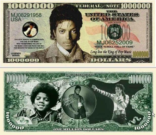 Michael jackson bill