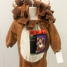 Lion Costume Infant 6-12 Months Plush One Piece Wizard of Oz Halloween - $22.64
