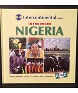 Nigeria A to Z Intercontinental Bank Education Book Hard Cover Hardback - $5.35