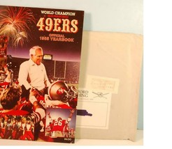 1985 San Francisco 49ers Official Football Yearbook w/Mailing Envelope - $34.65