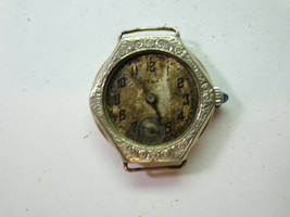 CYMA GOLD FILLED ANTIQUE VINTAGE WATCH FOR RESTORATION REPAIR OR TRENCH ... - $120.94