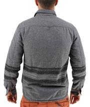NEW LEVI'S MEN'S SHAN CLASSIC LONG SLEEVE STRIPED WOOL SHIRT CASTLEROCK-3LDLW205 image 3